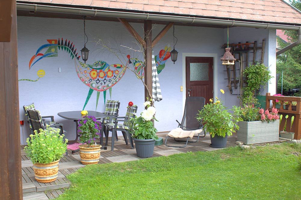 Haus Linda, Terrasse