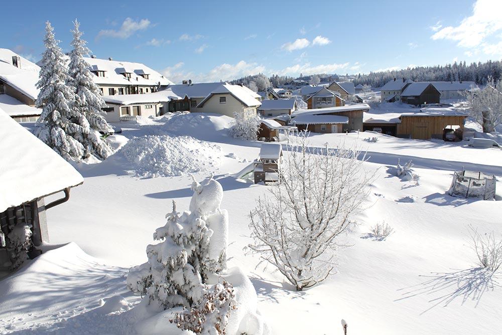 Haus Linda, Winter Umgebung