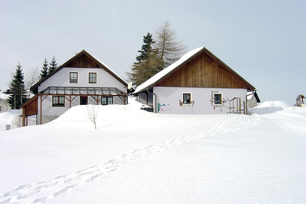 Haus Linda, Winter