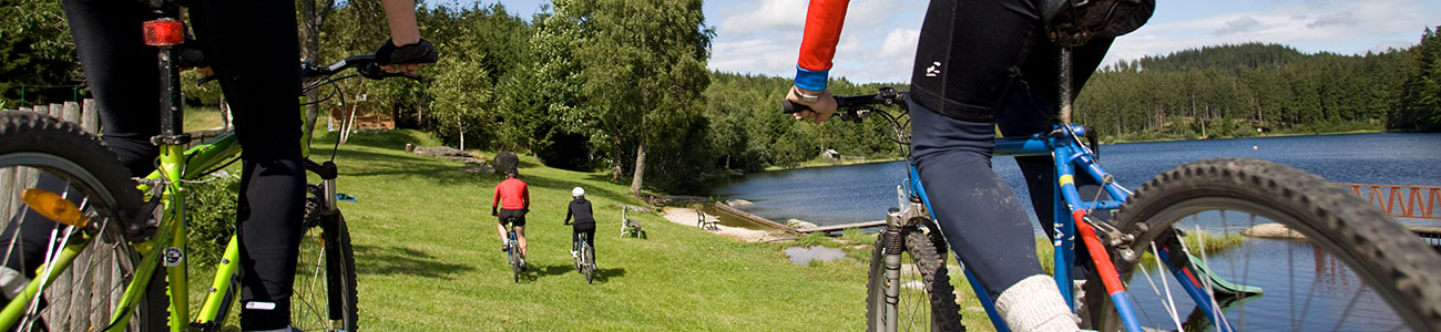 Radfahren Schlesingerteich
