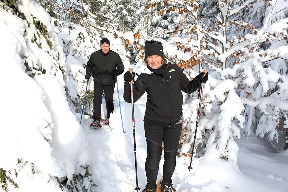 Schneeschuhwandern in Bärnkopf